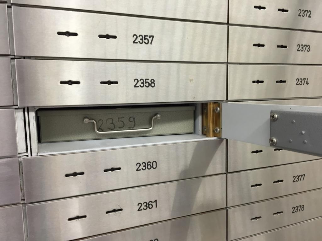 Safe vault property logbook twindig