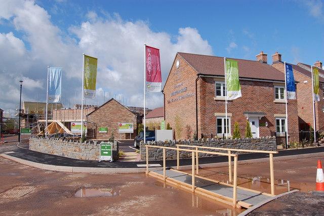 Barratt Developments housing development building site twindig anthony codling