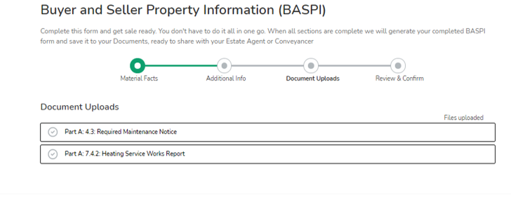 Image picture of BASPI part 3 document uploads home buying and selling group twindig anthony codling